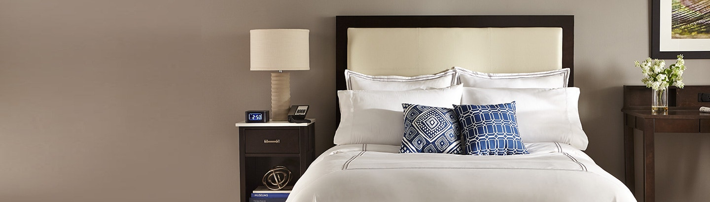 Get comfortable with stylish bedding