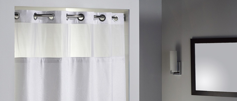 Hookless® Shower Curtains