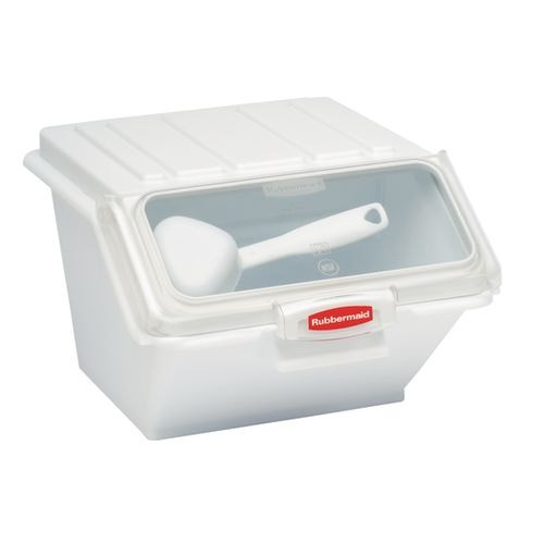 Rubbermaid Commercial Products Food Storage Container, White