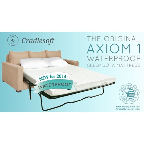 Fantastic Jeffco Fibres Inc Axiom I Waterproof Sleeper Sofa Mattress Queen 60 W X 72 L X 4 5 H Spiritservingveterans Wood Chair Design Ideas Spiritservingveteransorg