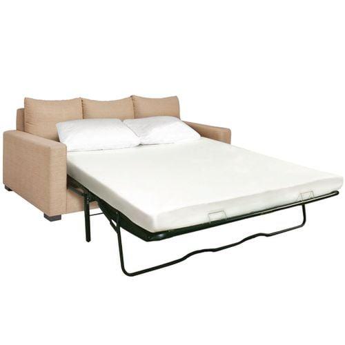 Jeffco Fibres Inc Axiom I Memory Foam Sofa Mattress Twin 48 W X 72 L