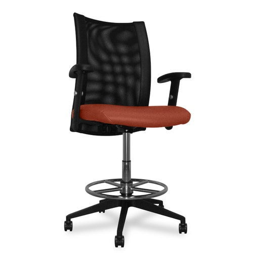 Charter Furniture Task Chair With Arms Gray Task Chairs Ergo