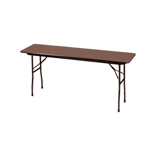 Folding Table Correll 18 X 60 Walnut