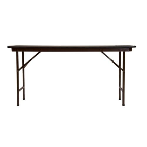 18 X 72 Folding Table.Folding Table Correll 18 X 72 Walnut