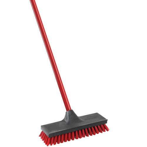 Libman Floor Scrubber Brush 10 Red