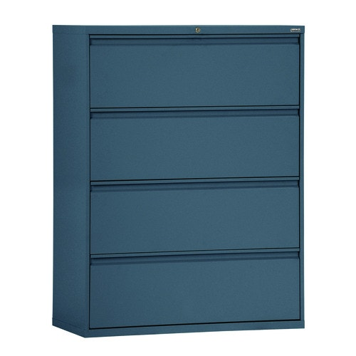 2 Drawer Lateral File 800 Series 36 Inch Wide Charcoal Legal And Letter