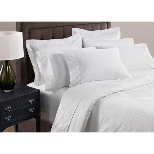1888 Mills Pure Bed Linen Duvet Covers, White, Full