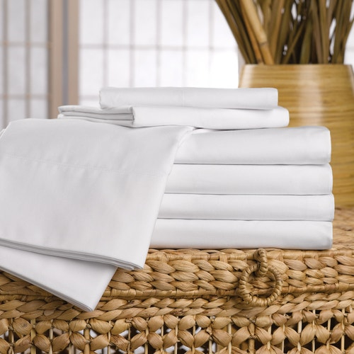 Westpoint Hospitality Martex Ultra Touch Microfiber 100 Polyester Ed Sheets White King 12 Depth Bed And Bath