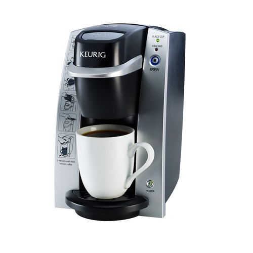 Keurig K130 Commercial Single-Cup Coffee Brewer, Black/Silver