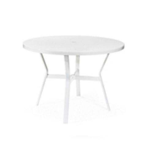 Pleasing La Quinta Pool Maui Bleau Umbrella Dining Table 42 Round Best Image Libraries Weasiibadanjobscom