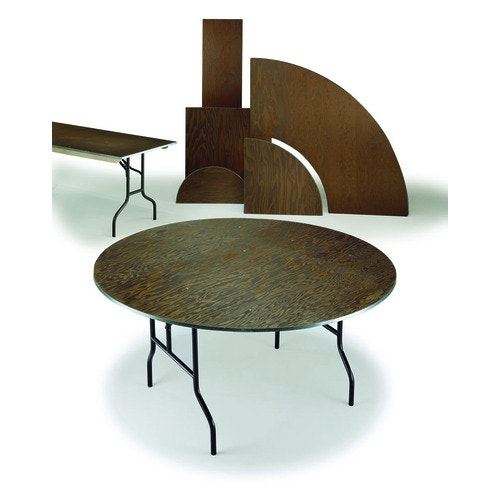 Midwest Folding Products E Series Plywood-Top Round ...