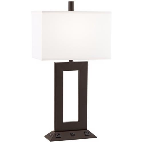 Lamps Plus Hospitality Hudson Double Table Lamp Bronze