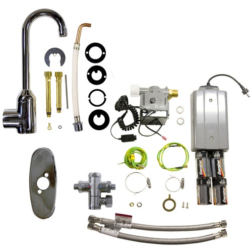 Rubbermaid Commercial Products Venetian Auto Faucet, 3 5
