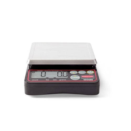 Rubbermaid Commercial Products Compact Digital Portion Control Scale, 2 Lb   Capacity