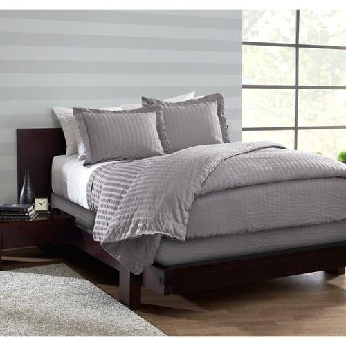 1888 Mills Beyond Textures Pillow Sham Gray Standard