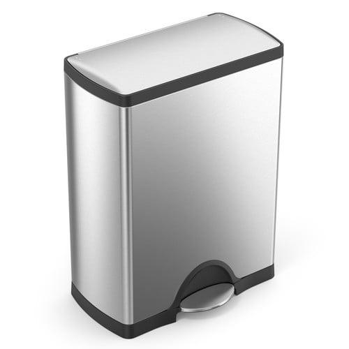 . Trash Can  Simplehuman  13 Gal  50 Liter   Stainless Steel