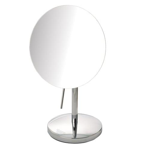Sharper Image Makeup Mirror.Sharper Image Slimline Design Vanity Mirror 7 5 Dia Chrome