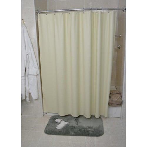 Kartri Shower Curtain San Crepe 36 W X 72 L Beige
