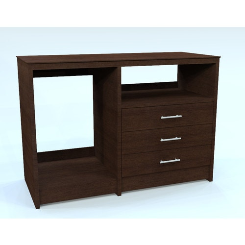 Son Furniture Sable Collection Micro Fridge Cabinet Three Drawer Cafelle Microwave And Casegoods Fixtures