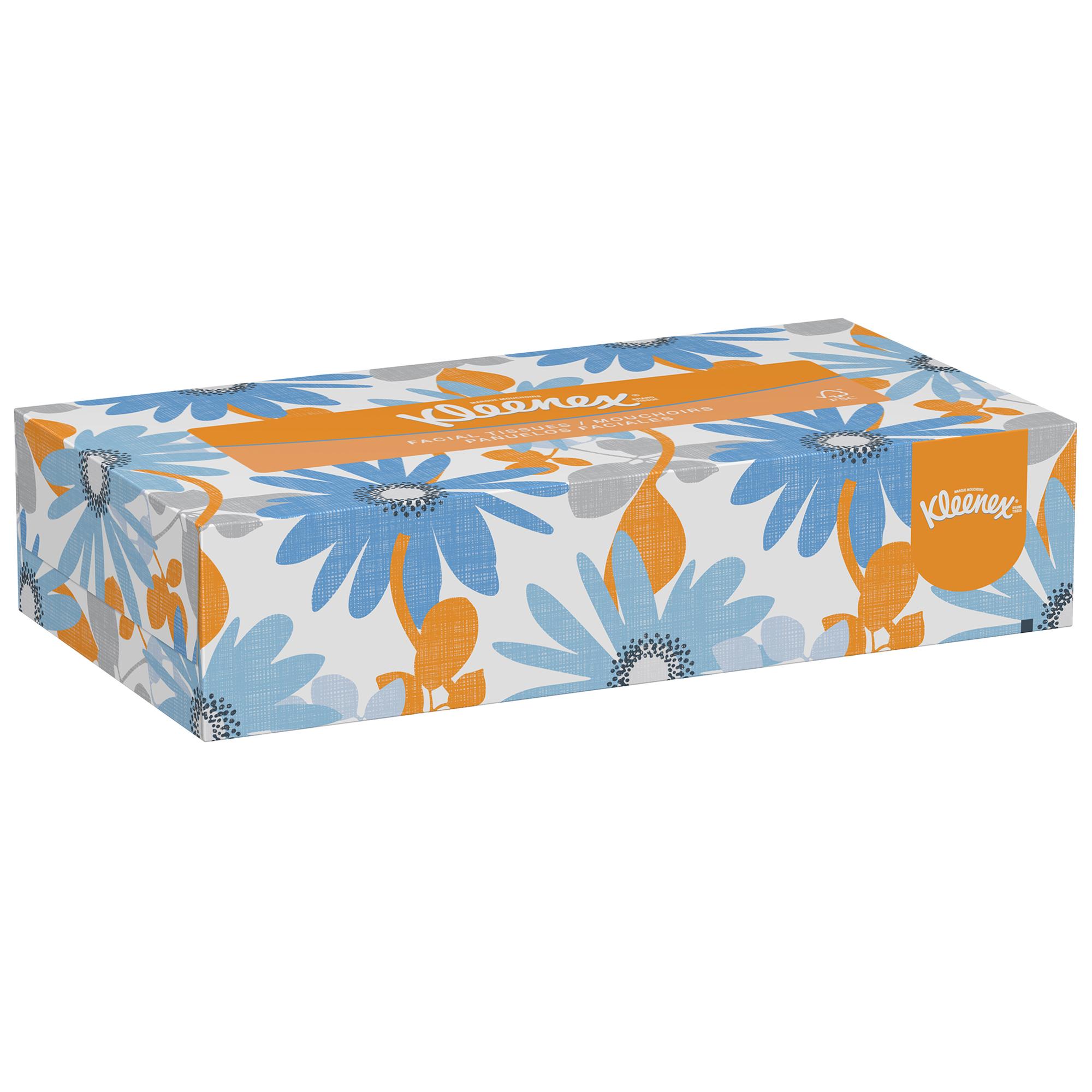 Kleenex® Flat Facial Tissue