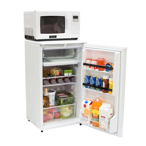 Absocold 3 6cf Fridge 9cf Microwave White Microwave And