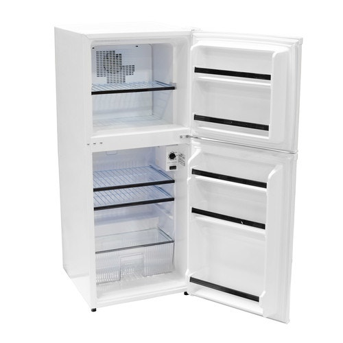 Marvelous Absocold 4 8 Cf Compact Refrigerator Freezer White Interior Design Ideas Apansoteloinfo