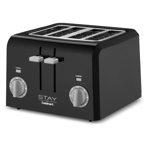 Cuisinart Stay 4 Slice Toaster Black Toasters Small Kitchen Appliances Kitchen Supplies Foodservice Open Catalog American Hotel Site