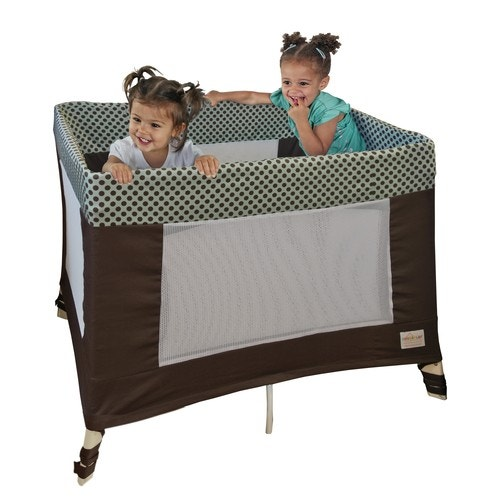 SLIPCOVER//LINER FOR PLAY YARDS BY COVERPLAY-FITS MOST STANDARD PLAY YARD-SAFETYS