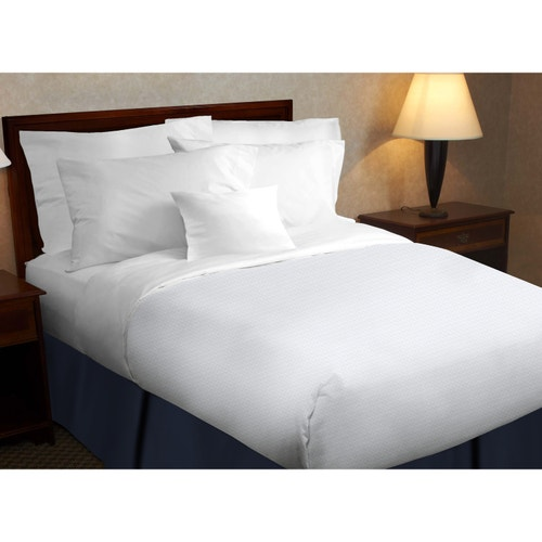1888 Mills Beyond Micro Square 100 Polyester Top Sheets White