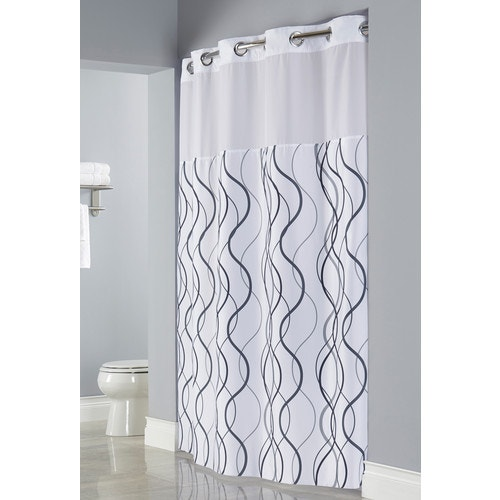 Hookless Waves Shower Curtain, 71