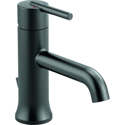 Delta Bathroom Faucets.Delta Trinsic Single Handle Bathroom Faucet 1 Or 3 Hole Installation Diamond Valve Matte Black