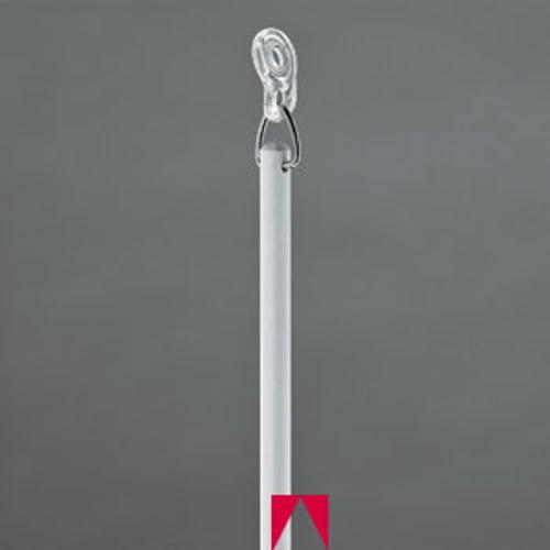 "Merlin Replacement Drapery Baton, 36"", White"