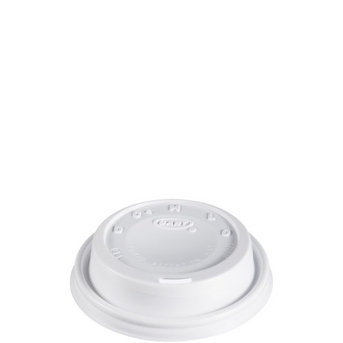 Dart Dome Hot Cup Lid Plastic White 8 Oz Hot Cup Lids Hot