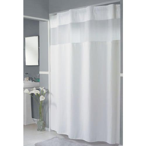 Hookless Pique Waffle Shower Curtain