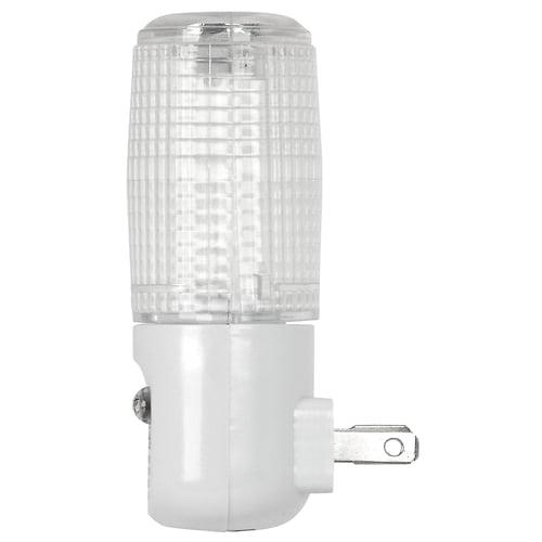 Feit Plug In Night Light With Led Sensor 1 Watt Incandescent