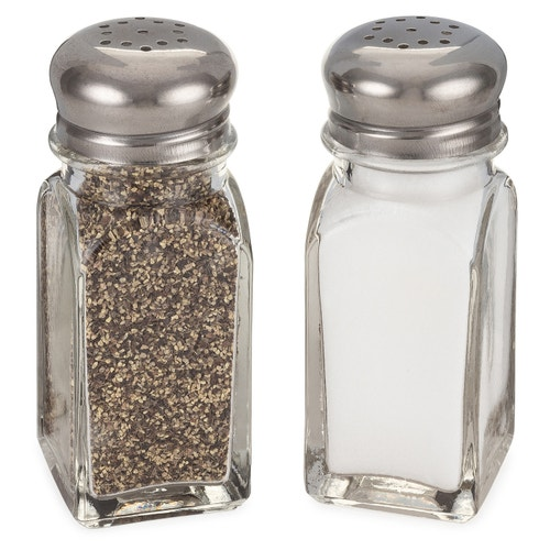 Registry Salt and Pepper Shaker Set | Kitchen Gadgets, Organizers and  Accessor | Kitchen Housewares | Kitchen Supplies | Foodservice | Open  Catalog | American Hotel Site