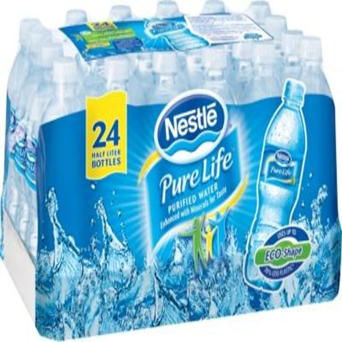 Nestle Pure Life Purified Water, 16 9 Oz , 24/Case