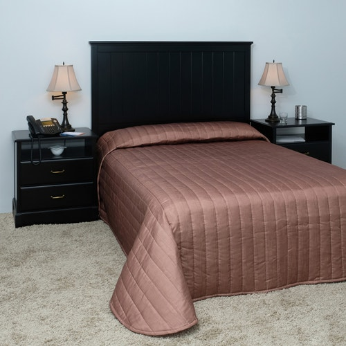 Hospitality By Design Moire Bedspread Twin 81 X 110
