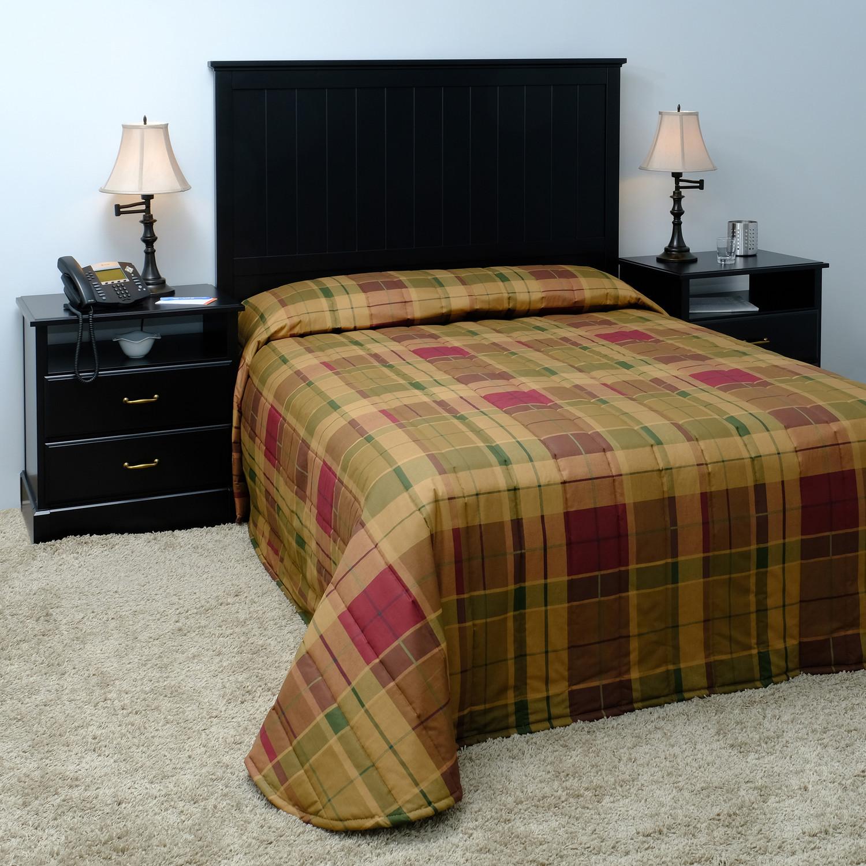 Hospitality By Design Tartan Bedspread
