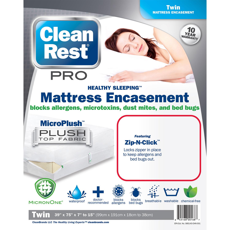 CleanBrands CleanRest Pro Box Spring Encasement