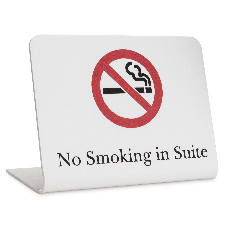 image about Printable No Smoking Signs titled Symptoms, Registry, NO Smoking cigarettes Inside SUITE, Tilt Structure