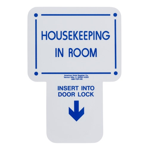 56a1f4114f12 Registry Housekeeping in Room Electronic Sign, 2.63