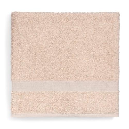 Registry Cam Border Bath Towel 24 W X 50 L Beige Bath Towels