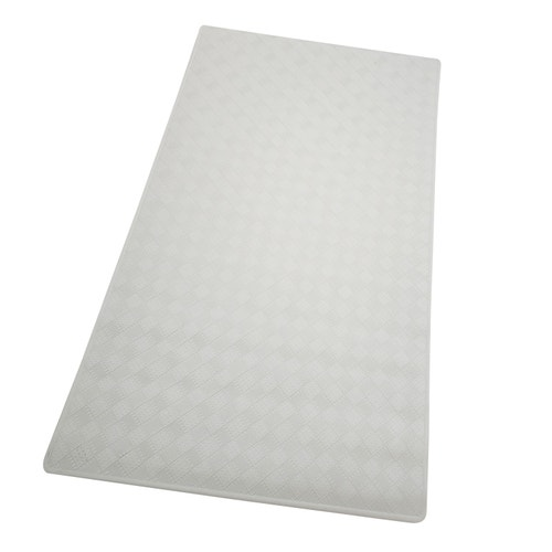 Homz Bath Mat Rubber White 27 75 L