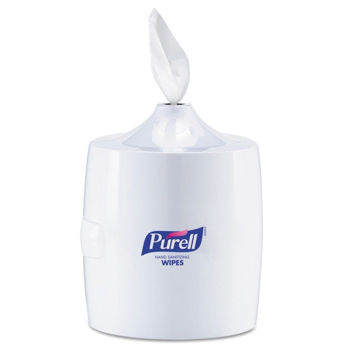 Purell Hand Sanitizer Wipes Dispenser Wall Mounted White