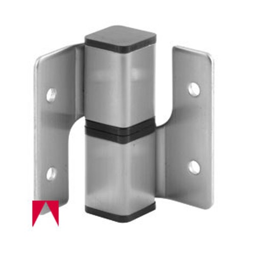 Square Barel Hinge Set Right Hand In Swing Stainless