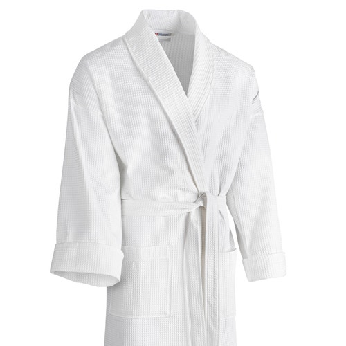 8f6df920013 Robe Registry Cotton Waffle Weave