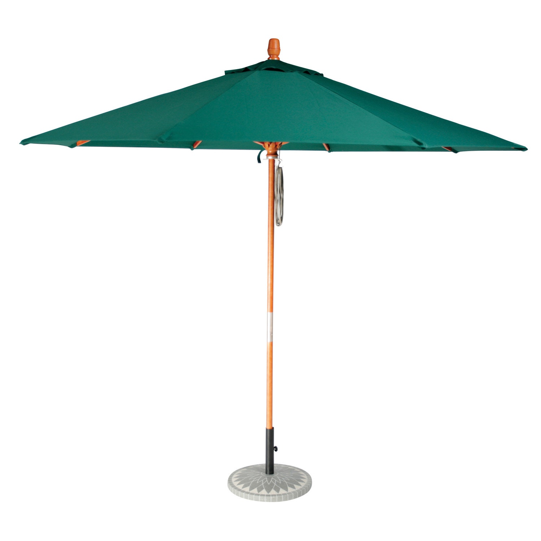 ... Casual Cushion Market Umbrella Patio Umbrellas, 7.5 Ft. Dia., Aluminum  Pole,