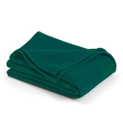 Martex By WestPoint Hospitality Vellux Blanket Hunter Green Twin