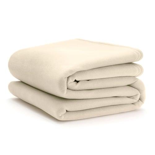 WestPoint Hospitality Martex Vellux Blanket Ivory Full